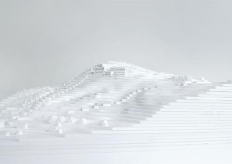 Modellbild Bergsbadet i Järvsö