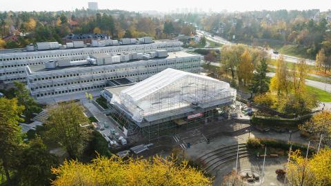 Nu öppnas nya Lidingö Stadshus