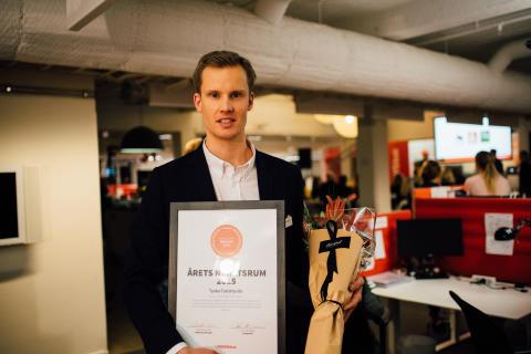 Tyska Turistbyrån vinnare i Årets Nyhetsrum 2015
