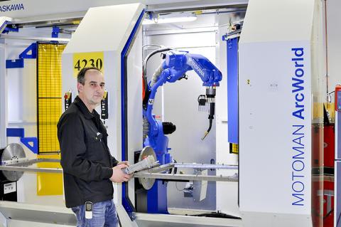 Proton Engineering kvalitetssäkrar och effektiviserar svetsprocessen