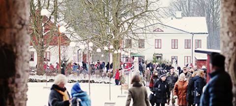 Pressvisning Jul på Fredriksdal