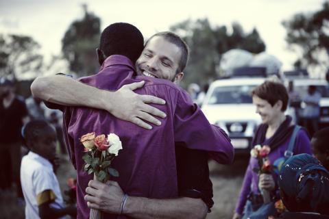 Begegnung in Sodo, Äthiopien: Teshome & Benjamin Adrion