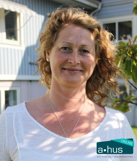 Susanne Ström, marknadschef A-hus