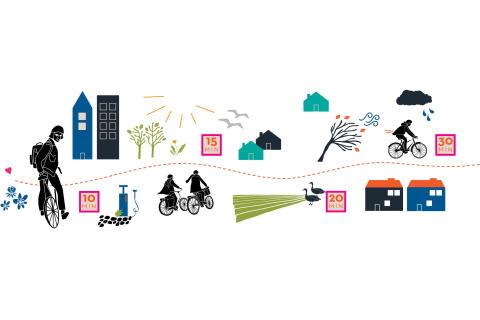 Kampanj för att få fler att pendla med cykel
