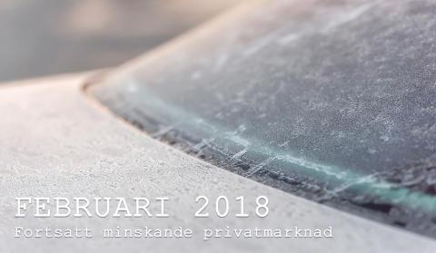 Bilmarknaden februari 2018