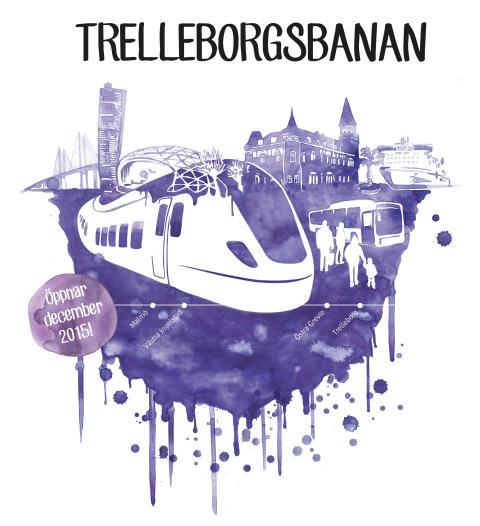 Helt ny kollektivtrafik när Pågatågen kommer till Trelleborg 13 december