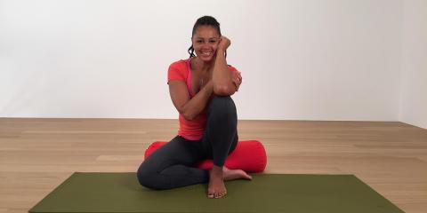 Blossom Tainton guidar tillsammans med Pia Wallberg till yoga & träning under en hela juli månad.