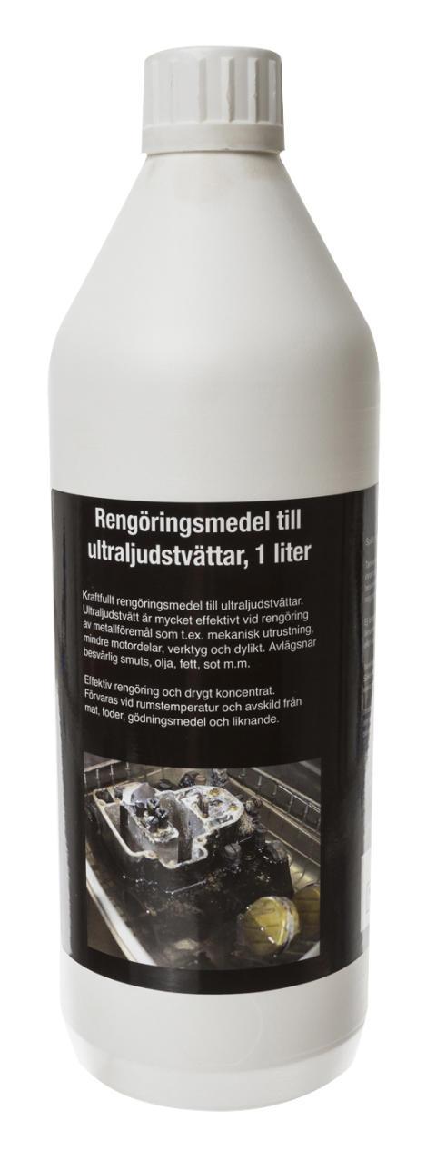 Pela ultraljudsrengöring - effektivt rengöringsmedel till ultraljudstvättar. Från Verktygsboden.