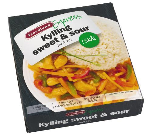 Fjordland Express Kylling sweet & sour