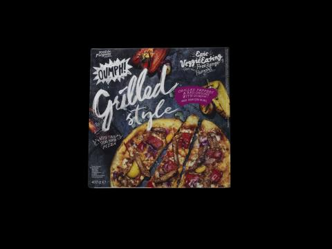 Oumph! Pizza Grilled