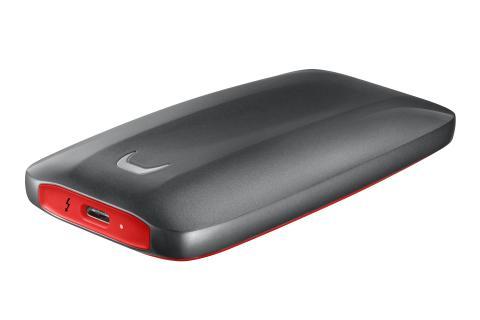 Samsung tar extern lagring till ny nivå med bärbara SSD X5