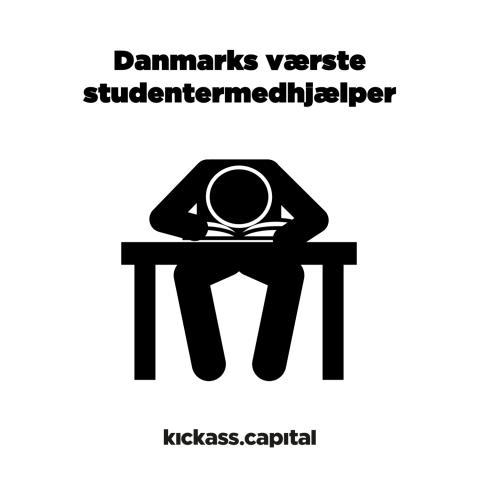 """""""Vi søger Danmarks værste studentermedhjælper."""""""