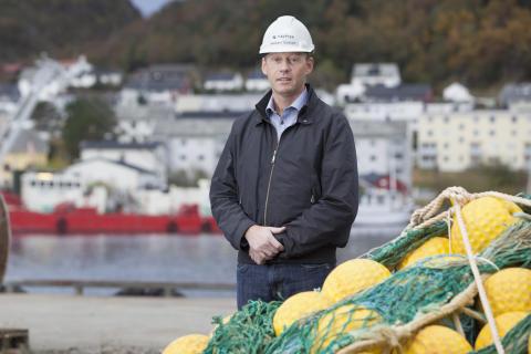 Konsernsjef Webjørn Barstad i Havfisk