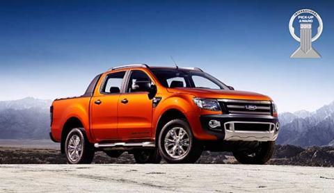 """Ford Ranger ble tildelt """"International Pickup Award""""  5. november 2012"""