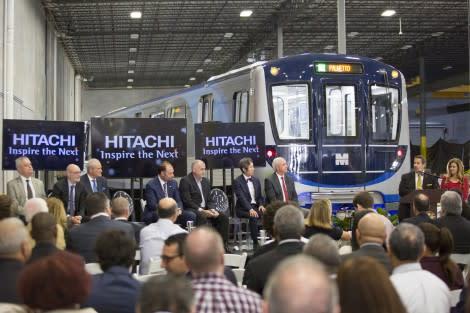 Hitachi Rail Italy: Il veicolo n.1 della nuova metro di Miami è realtà