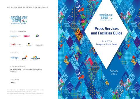 Pressinformation inför Paralympics Sotji 2014