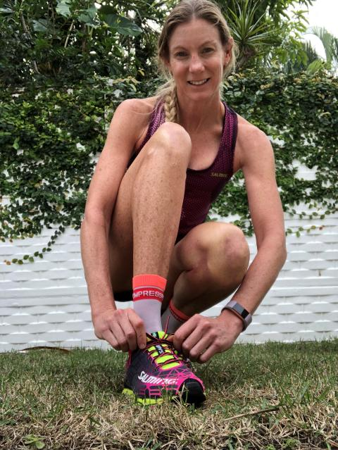 Four-Time World Triathlon Champion Leanda Cave joins team Salming