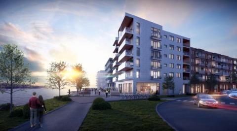 """Ramirent levererar maskiner och tjänster till projektet """"Smedjan"""" i Karlskrona"""