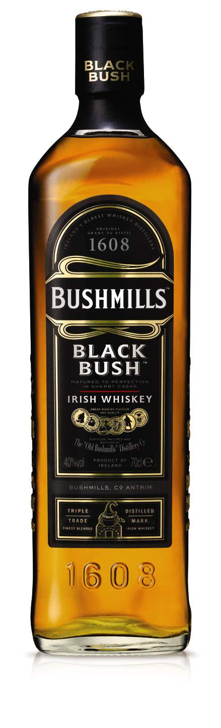 BUSHMILLS® BLACK BUSH, 70 cl 40,0 Vol %