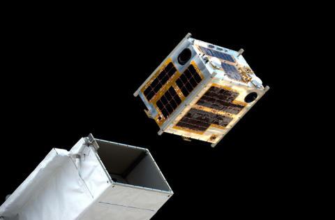ÅAC Microtec avionics aboard the first 50 kg microsatellite deployed from the ISS