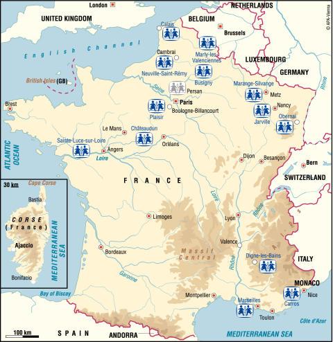 Nicolas Sarkozys Frankrike har sociala problem