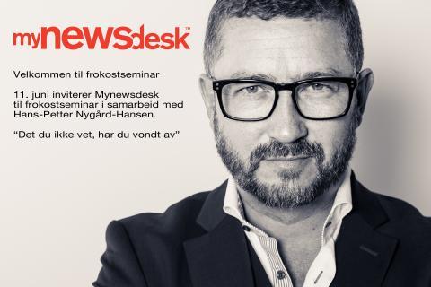 Frokostseminar i samarbeid med Hans-Petter Nygård-Hansen