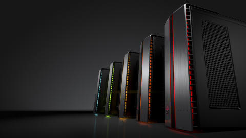 OMEN by HP Desktop PC with  LED_Left Facing