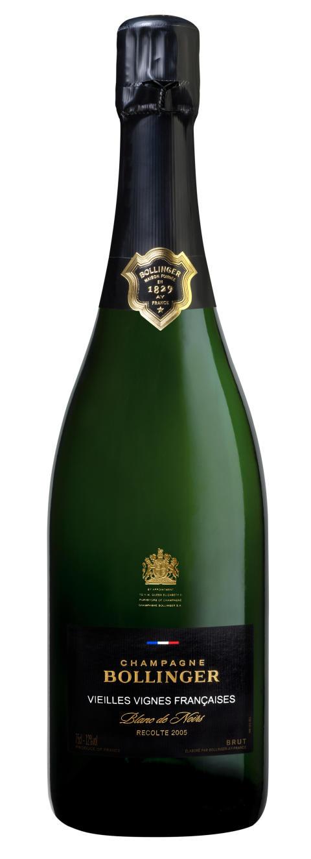 Bollinger Vieilles Vignes Françaises 2005 bottle