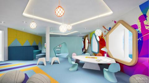 Tallink Silja Megastar| Kinderspielzimmer