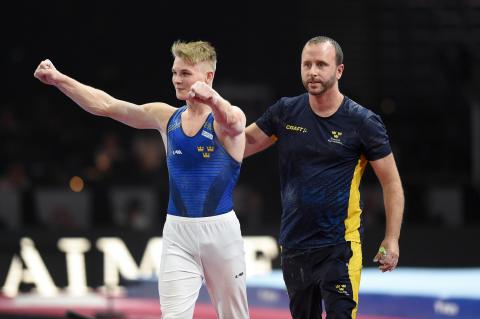 David Rumbutis, VM i artistisk gymnastik 2019