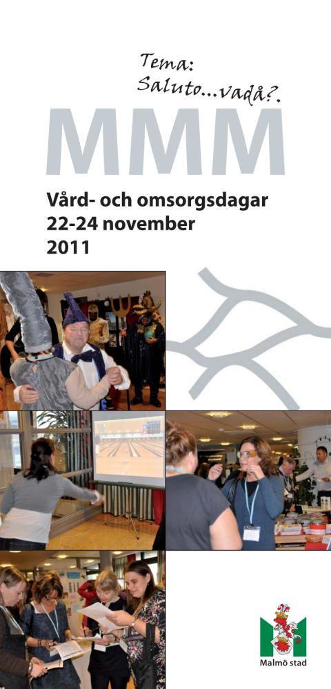 Vård- och omsorgsdagarna MMM 2011