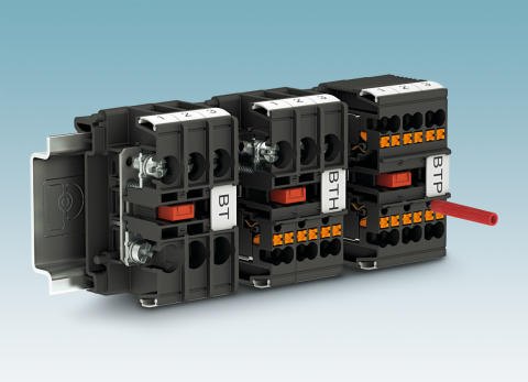 BT Barrier terminal blocks