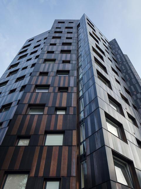 Mattias Hedberg Ek på FOJAB arkitekter får Lunds kommuns stadsbyggnadspris