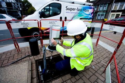 Openreach makes gigabit speeds available across the UK's largest wholesale FTTP network