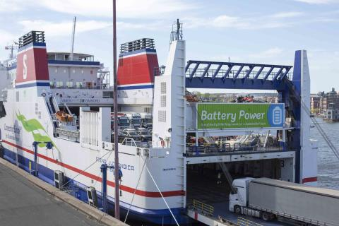 Smooth Sailing for Stena Jutlandica Battery Project