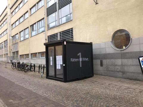 KUBEN FLYTTAS FRÅN GÖTEBORG TILL STOCKHOLM