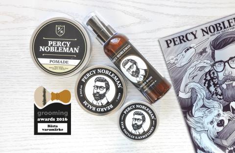 Bästa varumärke 2016 - Percy Nobleman