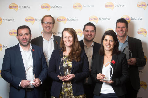 Winners of the Nectar Business Small Business Awards 2015