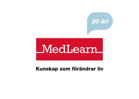 Medlearn 20 år uppmärksammas runt om i Sverige