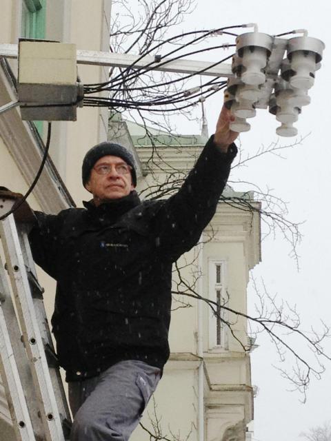 Mätningar av luftkvalitet i Arvika