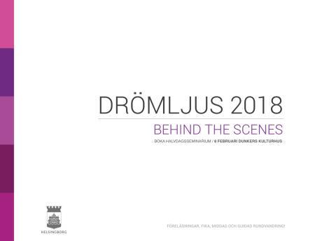 Drömljus 2018 Seminarium