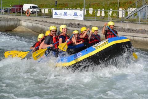 Kanupark Markkleeberg startet in 10. Saison – Paddelfestival lädt zum Ausprobieren und Zuschauen ein