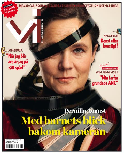 """Pernilla August: """"Min baksida heter kontrollfreak, hypokondrisk, livrädd … """""""