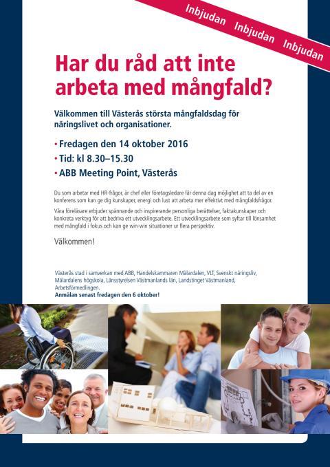 Program Mångfaldsdagen 2016
