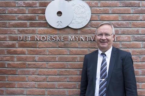Kjell Wessel_Det Norske Myntverket_foto Samlerhuset