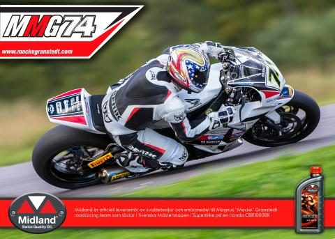 Superbikes Macke Granstedt pressar Honda.