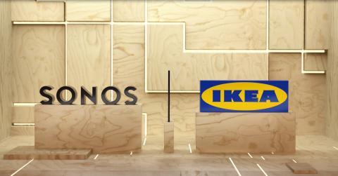 IKEA och Sonos i samarbete1