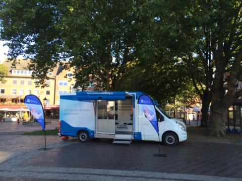 Beratungsmobil der Unabhängigen Patientenberatung kommt am 5. April nach Emden.
