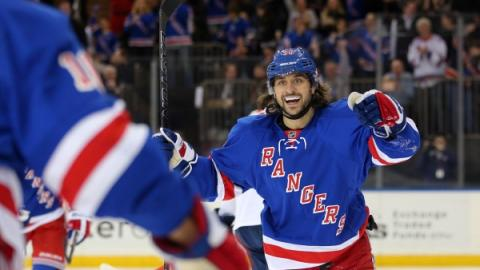 Zuccarello spiller for Team Europe