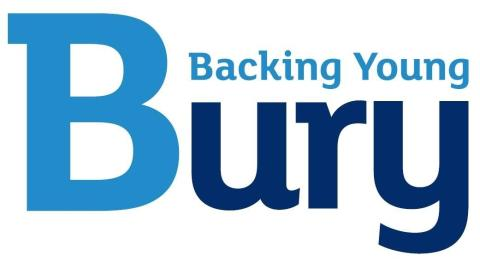 Invite to businesses for Backing Young Bury showcase